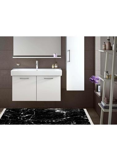 Dolce Bonita Home Banyo Halısı 80X100 Amor Siyah Siyah
